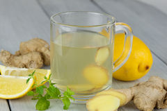 Spicy ginger tea Stock Photography